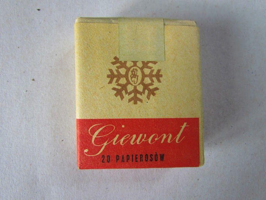 Papierosy Giewont Prl Kolekcje Bcm 6256597403 Oficjalne Archiwum Allegro Paper Shopping Bag Cigars Tobacco
