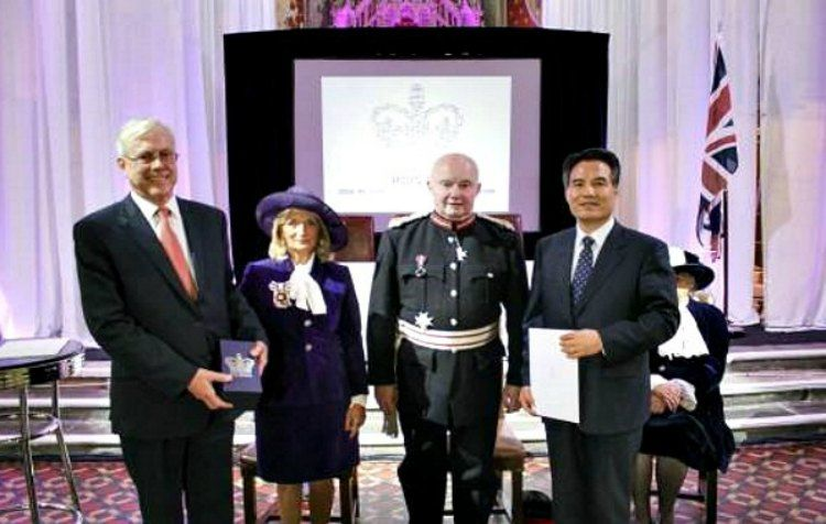 The World Mission Society Church of God (WMSCOG) have received the UK Queen's Award for voluntary service.