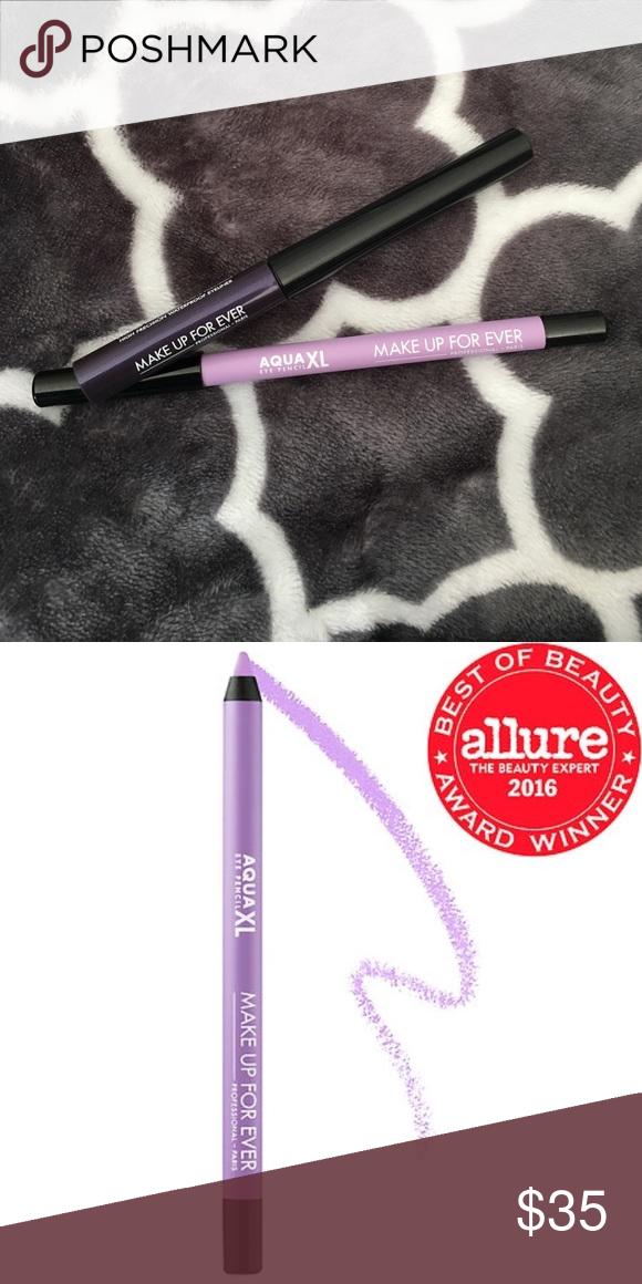 Make Up For Ever Eyeliner bundle Aqua XL liner in matte