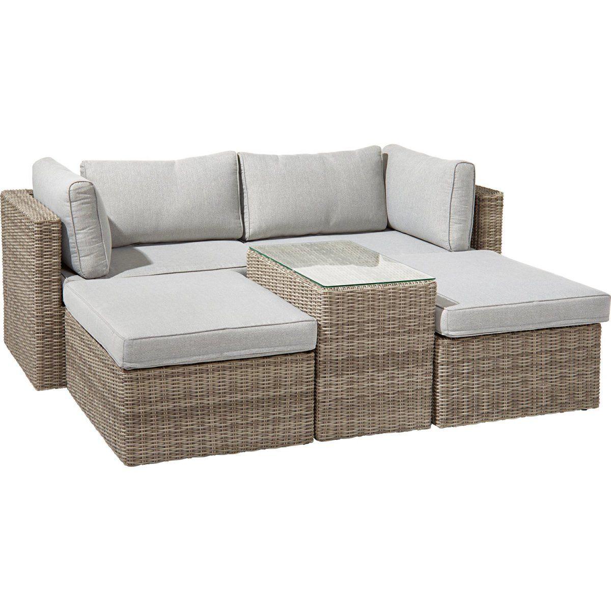 Lounge-Gruppe Olea II 5-teilig Grau Jetzt bestellen unter: https ...