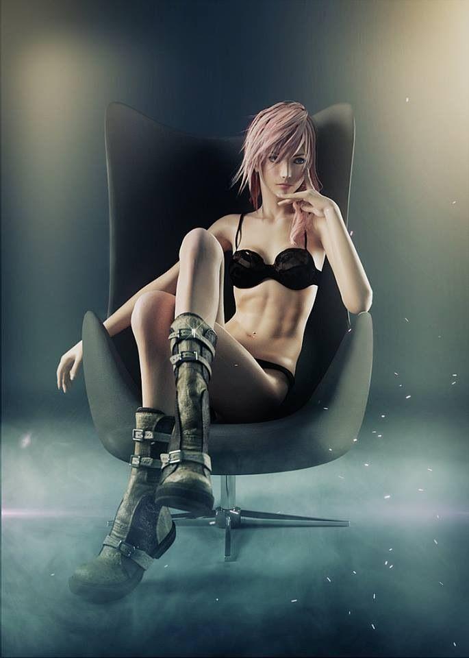 Final fantasy girls sexy turns