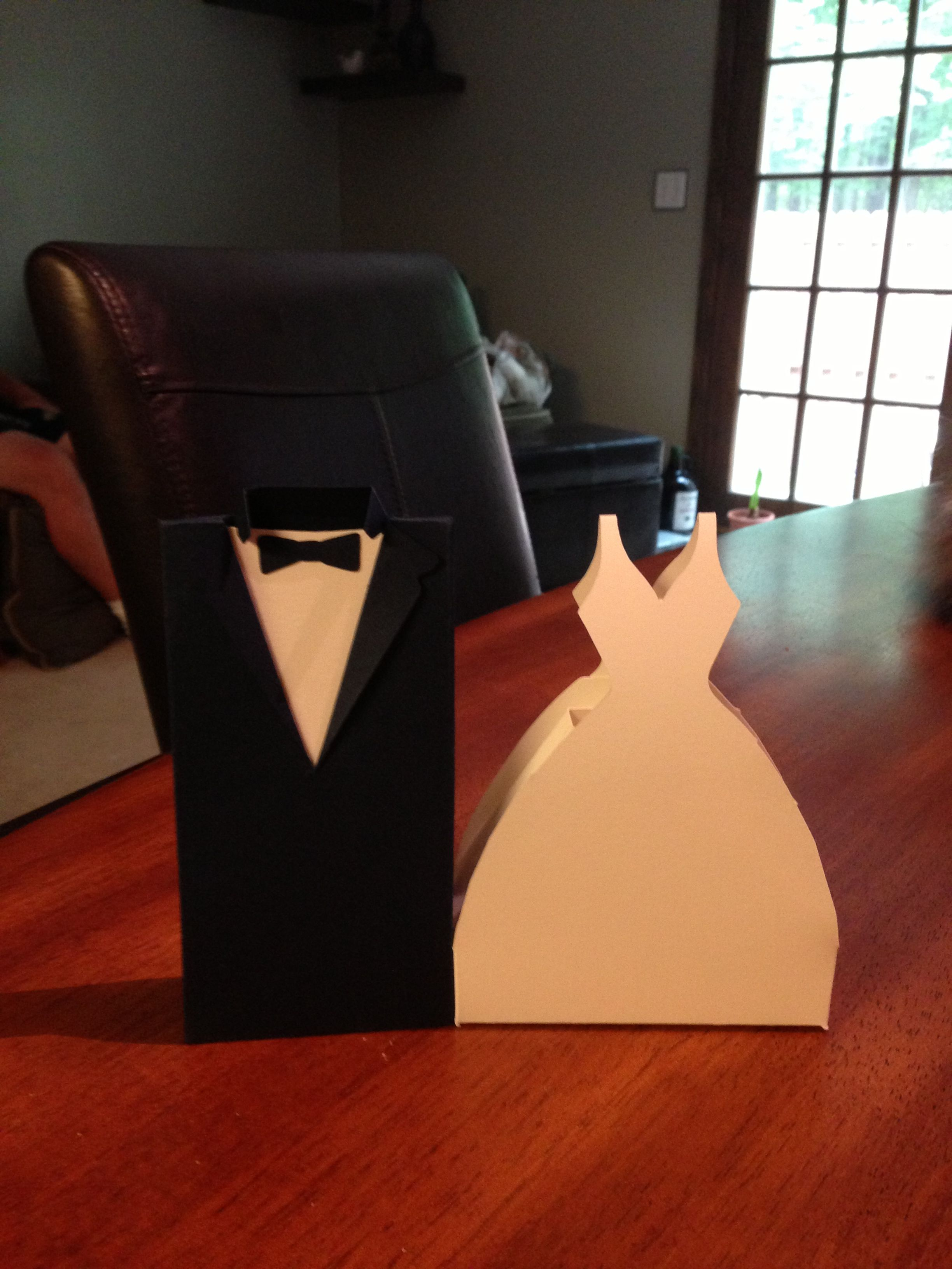 Bride and Groom boxes
