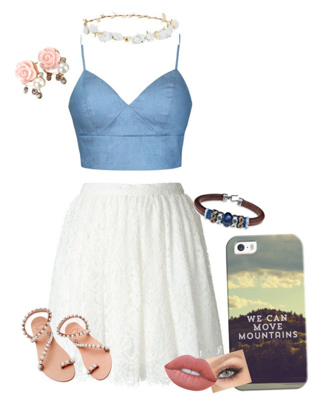 """Outfit"" by classybird7 ❤ liked on Polyvore featuring Casetify, Ally Fashion, Robert Rose, IRO, Elina Linardaki, Platadepalo and Lime Crime"