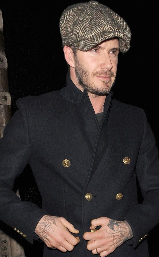 Newsboy Caps David Beckham Caps In 2019 Outfits With