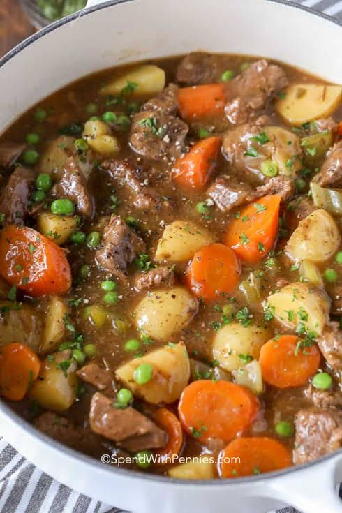 Beef Stew Recipe Yummly Recipe Easy Beef Stew Recipe Easy Beef Stew Beef Stew Recipe