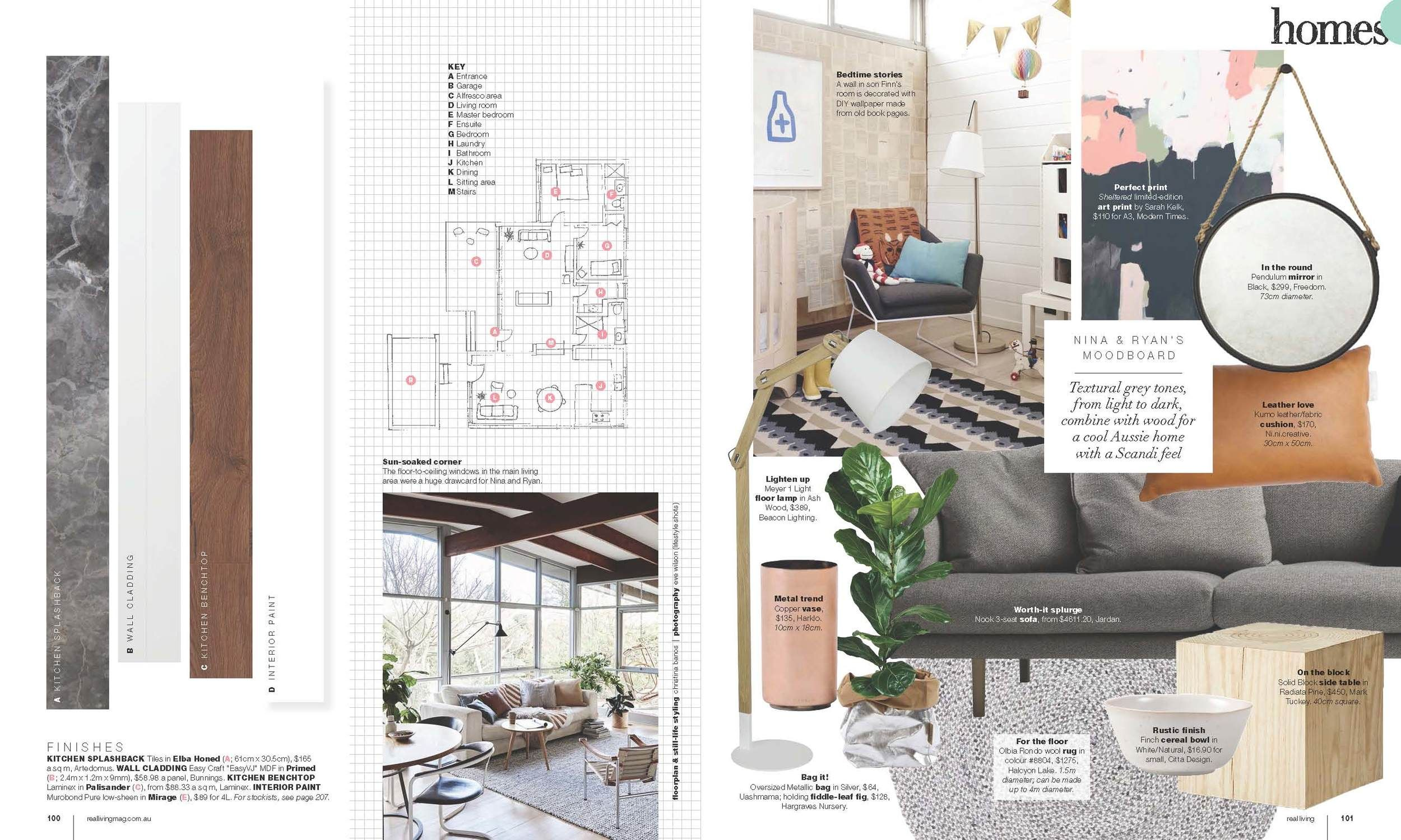 Mt Martha Home features in Real Living Magazine | NI NI