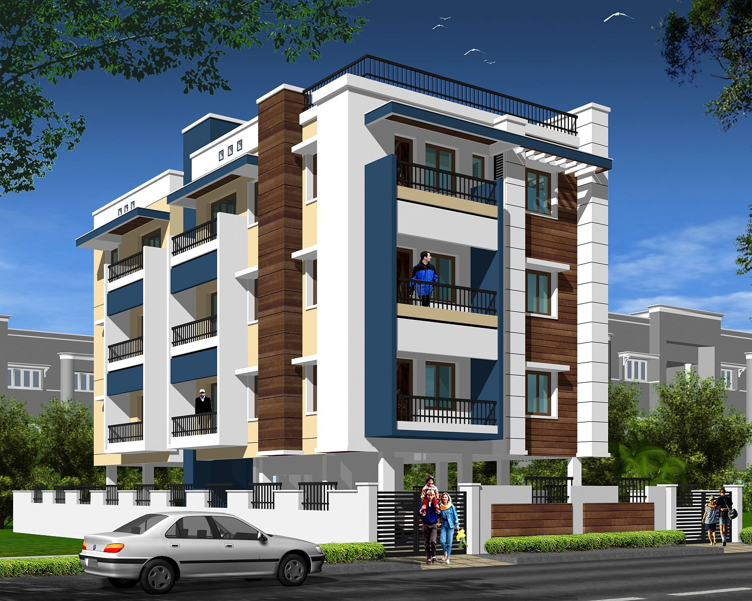 Luxury Apartment Elevations Dreams House Furniture Apartments