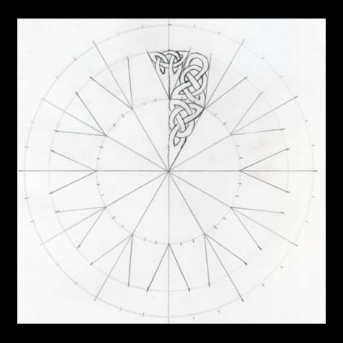 Celtic Knots 101 - Working in a Circle - WetCanvas | Dibujos ...