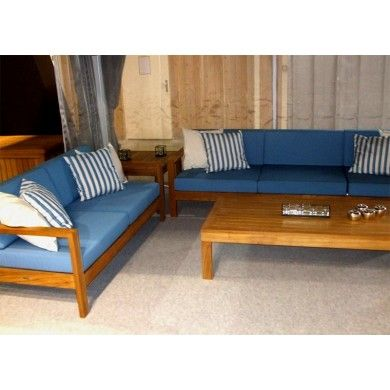 Barlow Tyrie Deep Seating Teak Collection | patio furniture | Pinterest