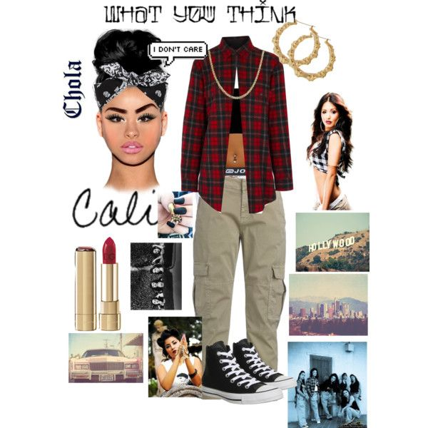 LIKE A CHOLA $.$ By Jtia On Polyvore Featuring Yves Saint
