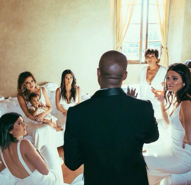 Kardashians And Jenners Kim Kardashian Wedding Kanye West Wedding Kim Kanye Wedding