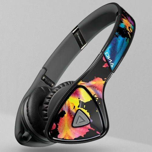 Who Sells Novelty Travel Portable On-Ear Foldable Headphones Blessed - Floral Flowers Cheap