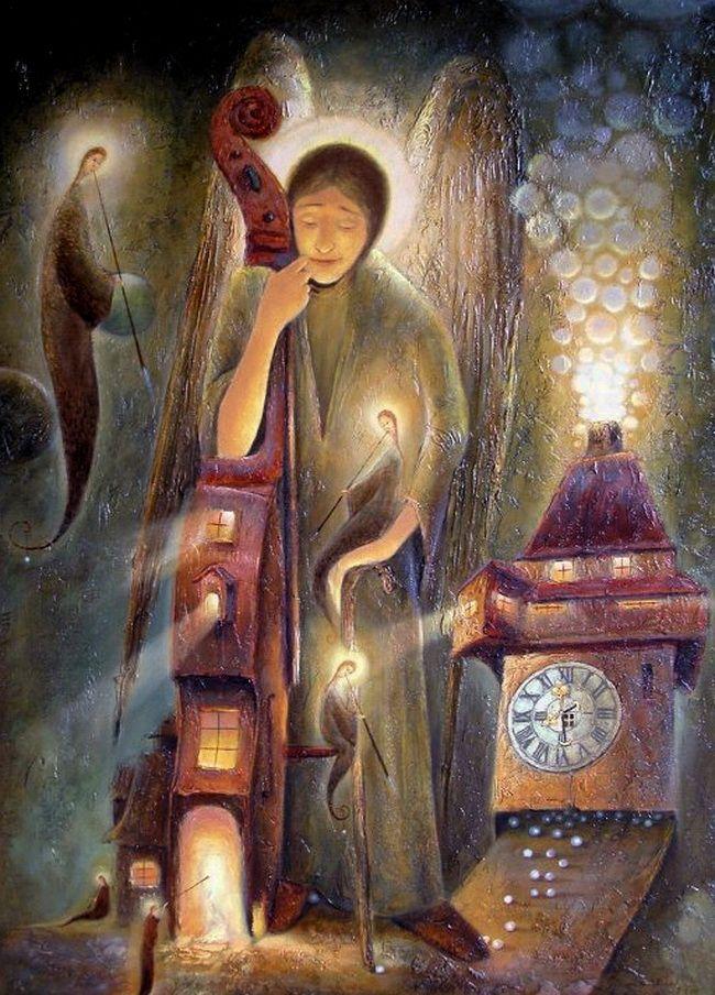 ангелята на картинах художников - Пошук Google | Картины ...