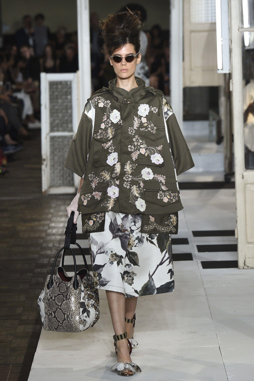 Antonio Marras Spring 2017 Ready-to-Wear Collection Photos - Vogue Khaki +  Embroidery Wonderful combination c2a0e308afe
