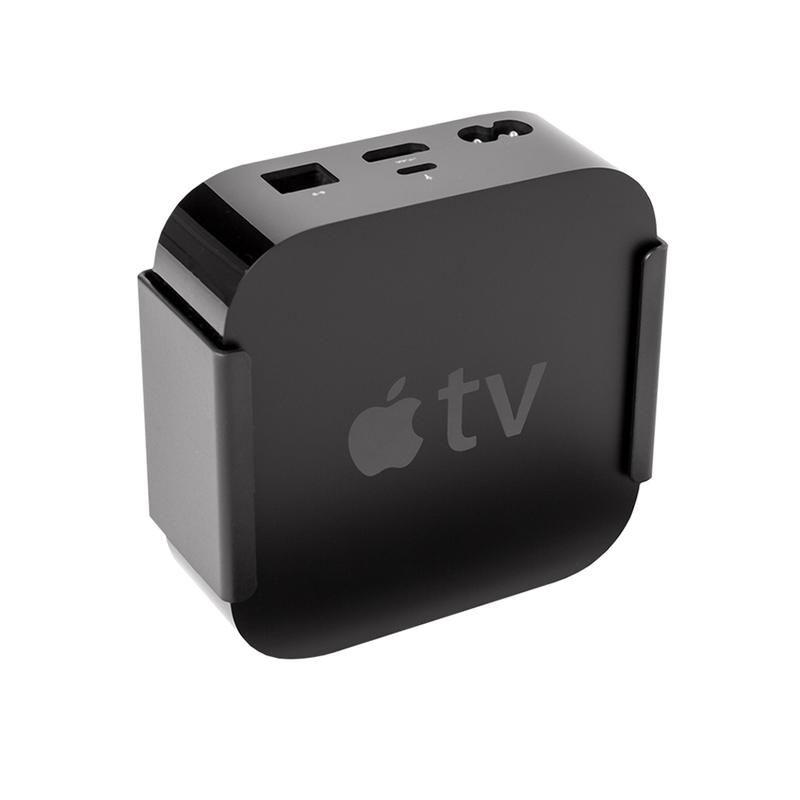 Hideit Atv4 4th Gen Apple Tv Wall Mount Apple Tv Wall Mounted Tv Tv Wall
