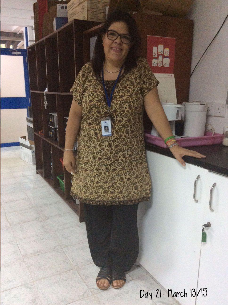 Day 21 - #ClosetChallenge - Pantalón y blusa comprados en Jaipur, India. Muy estilo indio, poco lo uso pero me encanta.