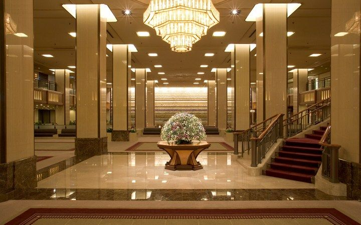 Imperial hotel tokyo frank lloyd wright olden days for Leading small hotels