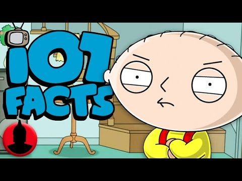 107 Facts About Family Guy Youtube Facts About Guys Family Guy Cartoons Youtube