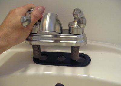 Installing a new faucet!....someday I'll get brave and try this
