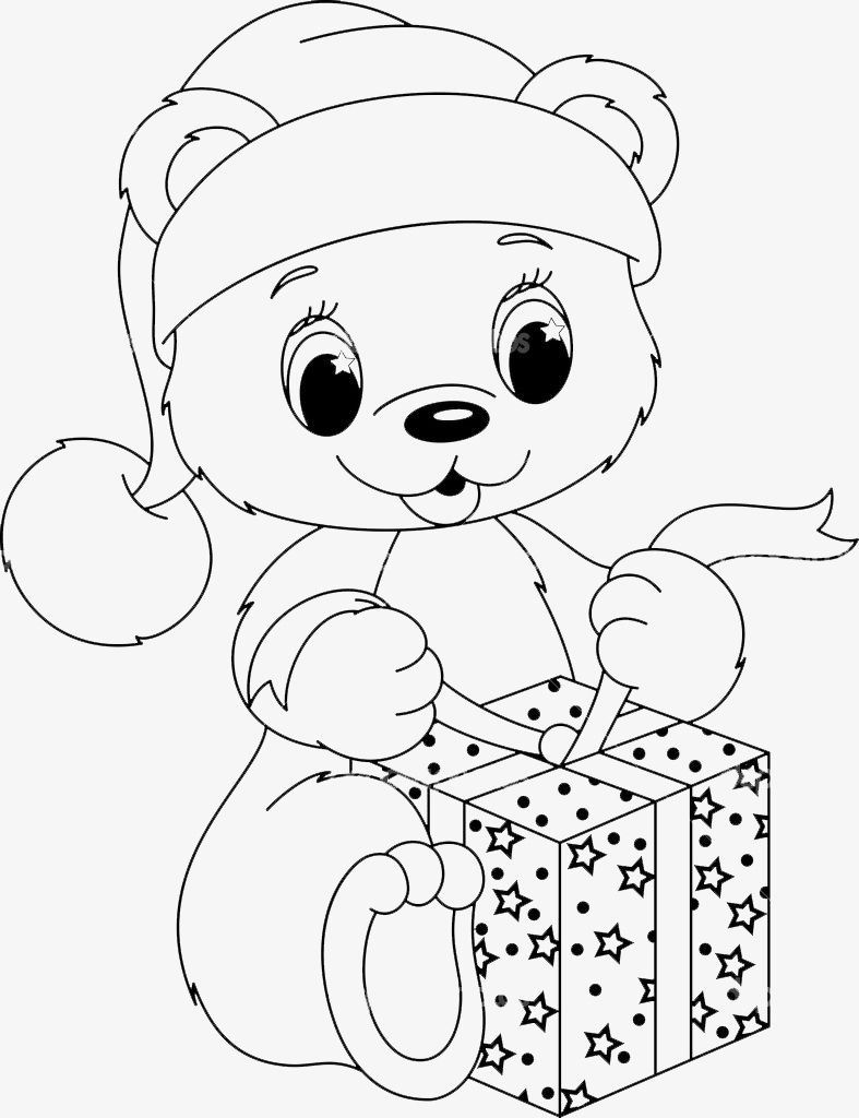 Pin By Amy Whisonant On Ursinho Teddy Bear Coloring Pages Bear Coloring Pages Christmas Coloring Pages