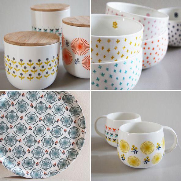on en a envie la vaisselle scandinave de mr mrs clynk dishes pottery and kitchenware. Black Bedroom Furniture Sets. Home Design Ideas