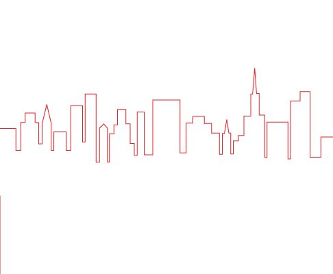 How To Draw A Cityscape Cityscape Drawing Cityscape Abstract Face Art
