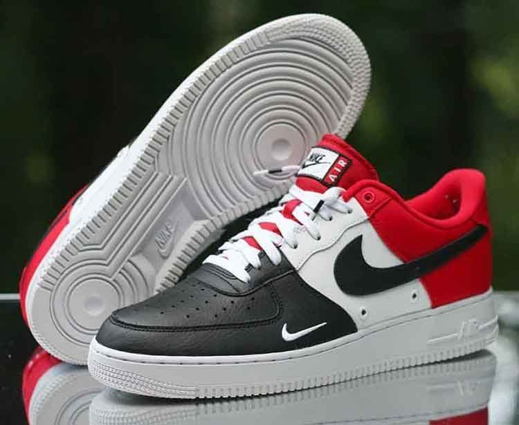 air force 1 low black toe