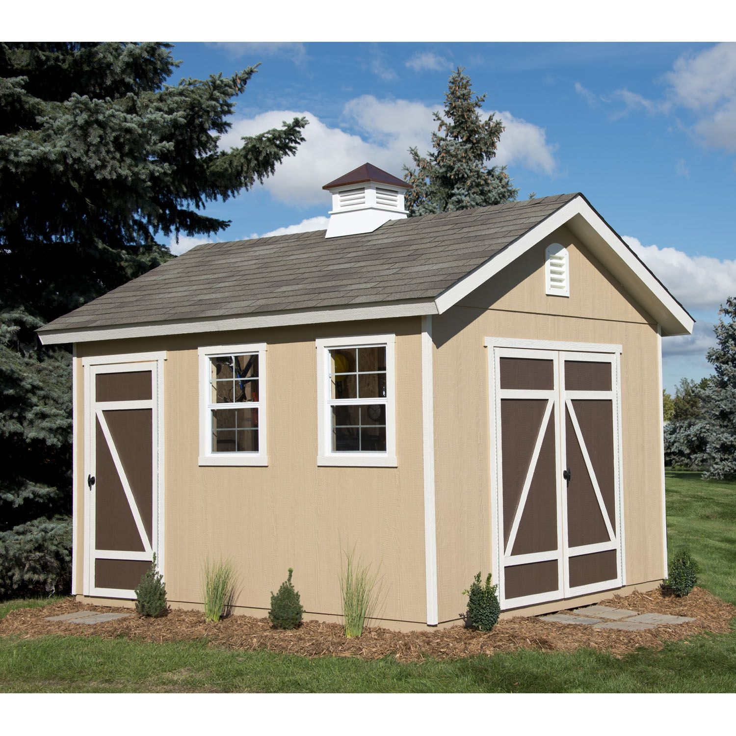 10x12 Wood Shed Get The Most Out Of Your 10x12 Shed Heartland Sheds Wood Shed Shed 10x12 Shed