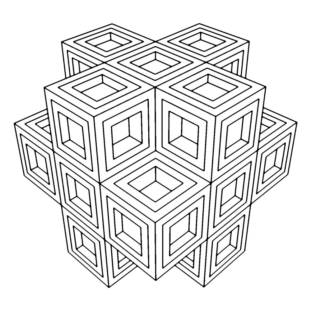 Art Therapy Coloring Pages Geometric Coloring Pages Abstract Coloring Pages Pattern Coloring Pages