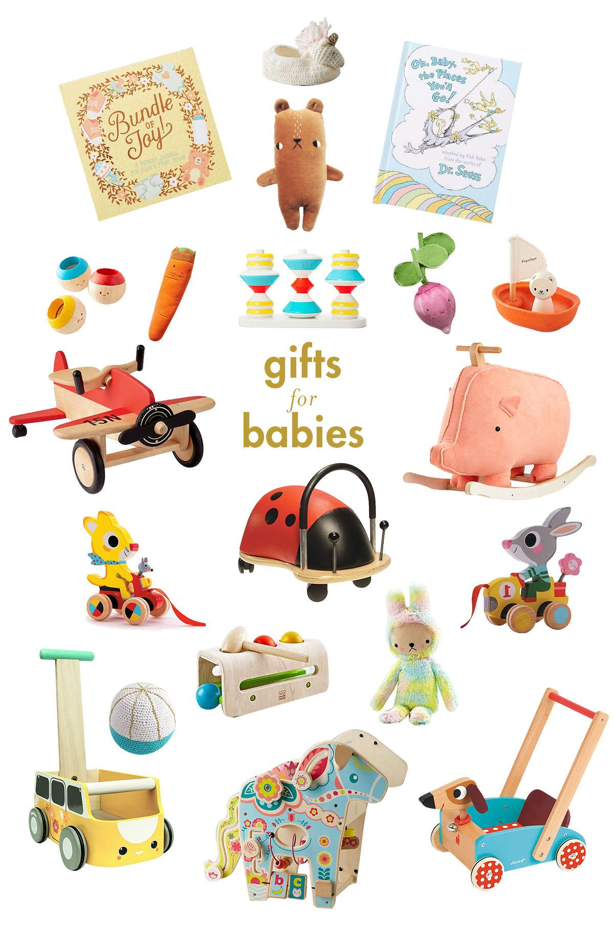 Gift guide for babies little girls lay baby lay little