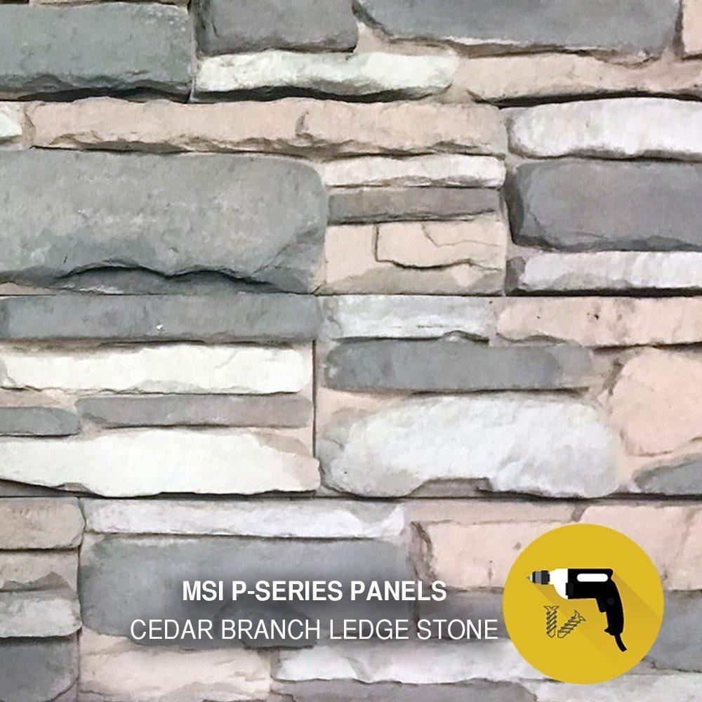 MSI P-SERIES | Mortarless Stone Panels - M-Rock Stone Solutions