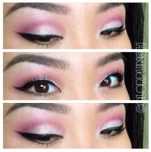 Instagram Colorpunch Fbcolorpunchmakeup Eyeshadow For Asian
