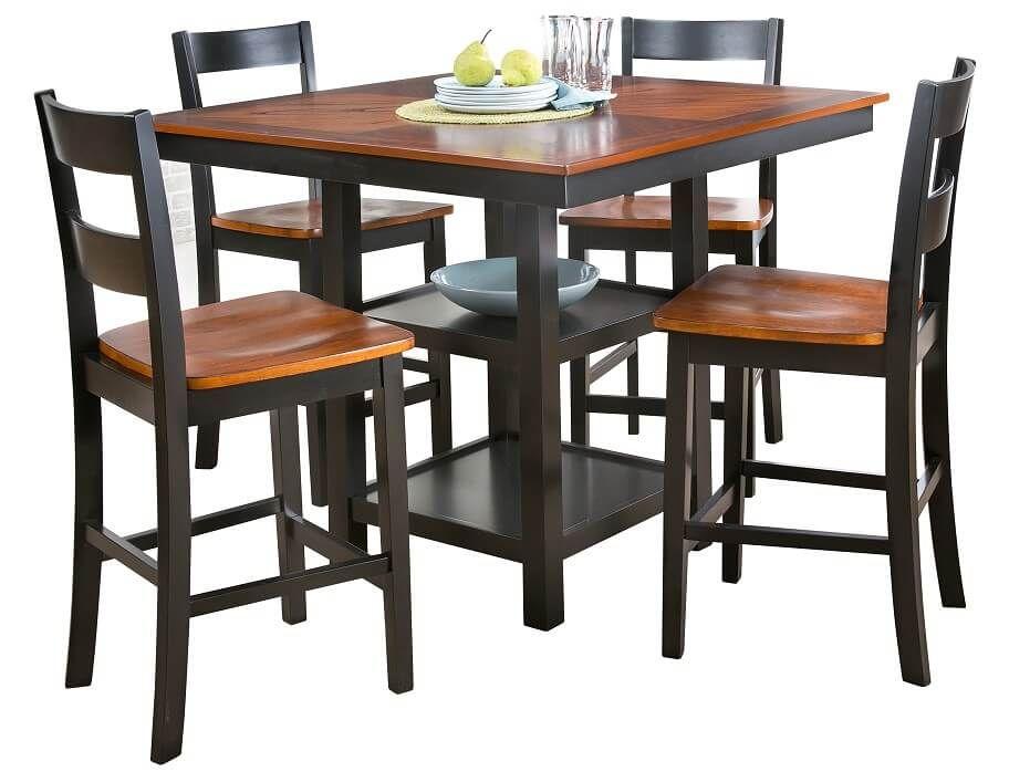 Slumberland Teller Collection 5pc Set Kitchen Table Settings Kitchen Furniture Dining Furniture