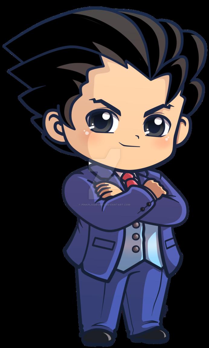 Phoenix Wright Ace Attorney Chibi Charm By Pinkplaidrobot Phoenix Wright Chibi Ace