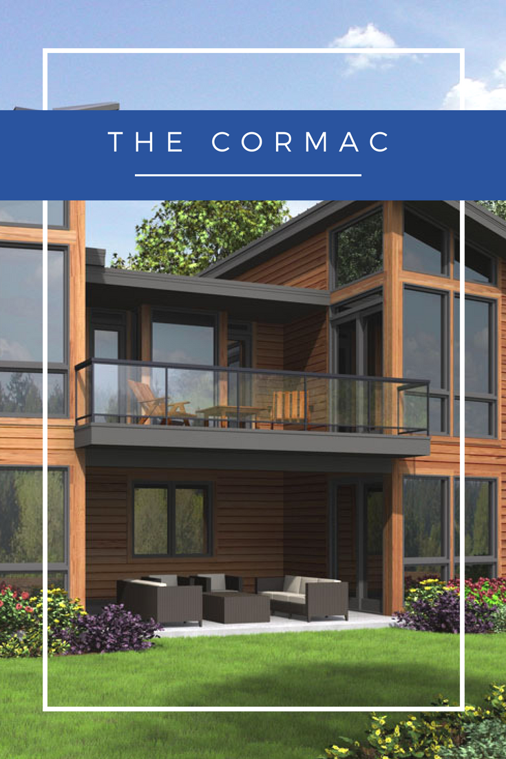 The Cormac Is A Contemporary Home Package From Linwood Homes The Modern Angled Roof Lines Create Unique Curb Appeal The Floor Plan Is Open And Flexible