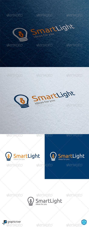 SmartLight - Logo Design Template Vector #logotype Download it here: http://graphicriver.net/item/smartlight-logo/4928310?s_rank=667?ref=nexion