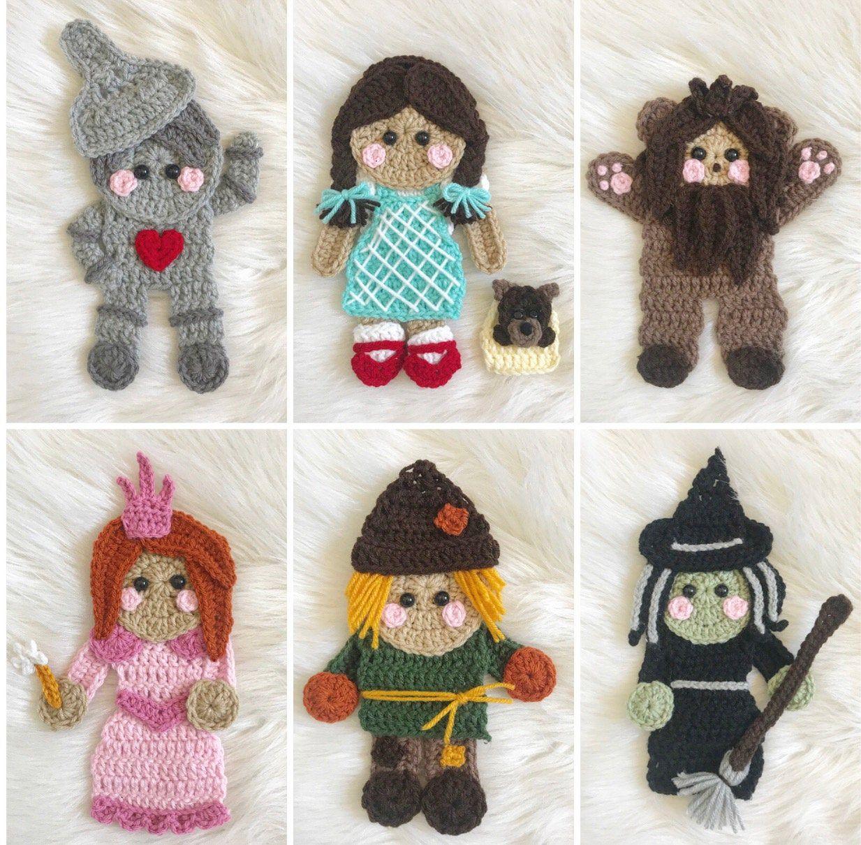 Crochet Pattern - INSTANT PDF DOWNLOAD - Nellas Cottage - Over The Rainbow - Crochet - Patterns - Crochet Patterns - Nellas Cottage Patterns #crochetdinosaurpatterns