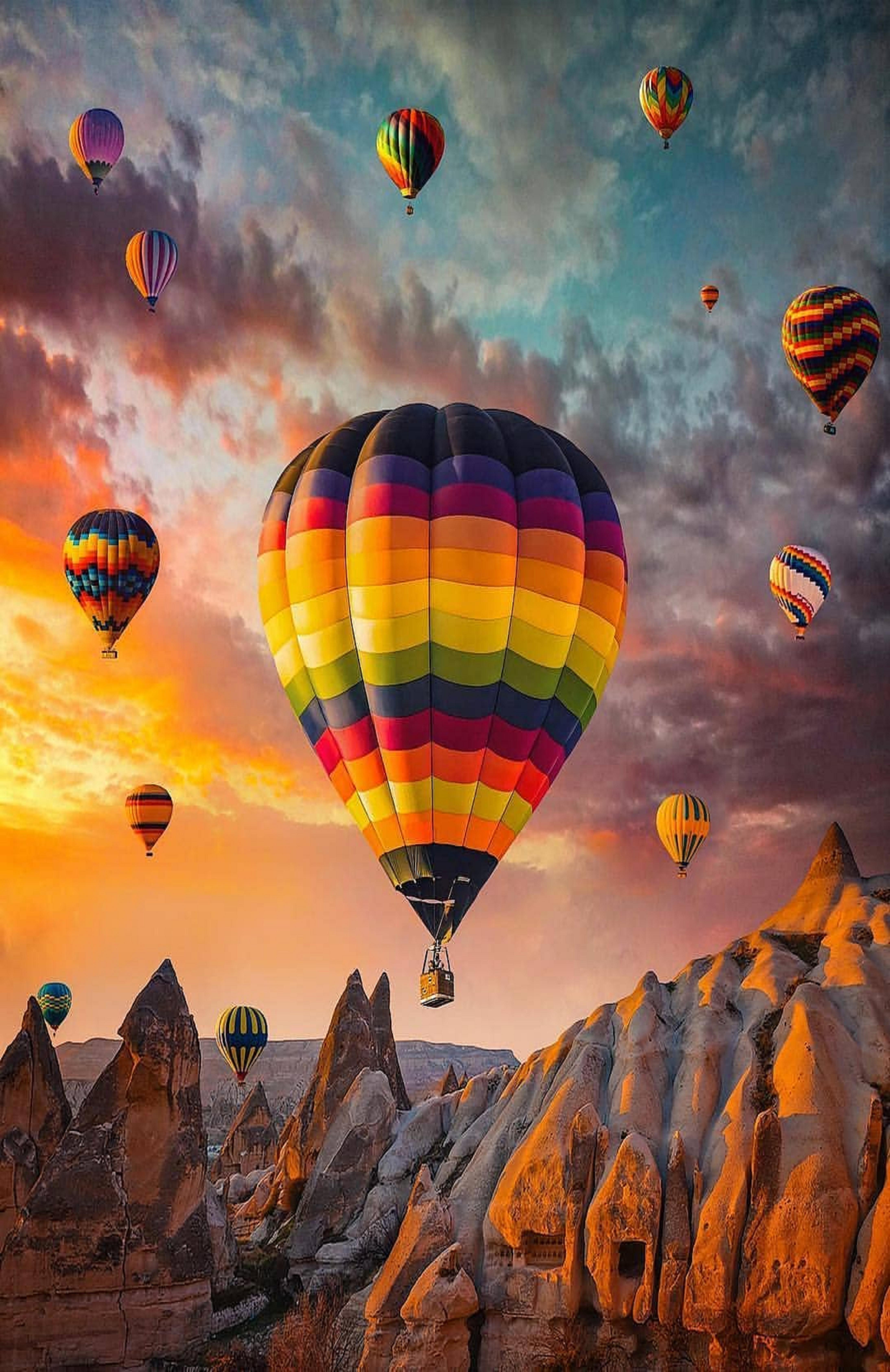 Pin by ivanka kostova on Sunset Hot air balloons