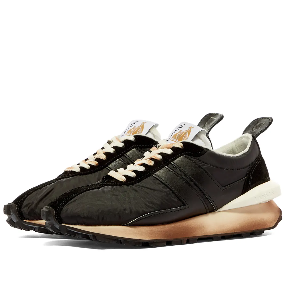 Lanvin Leather Running Sneaker in 2020 | Sneakers, Running