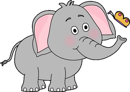Cute Car Clip Art | Elephant and Butterfly Clip Art Image ...