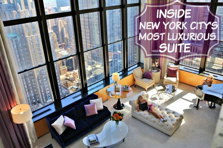 Inside The Jewel Suite Nycs Most Luxurious Hotel Nyc Travel