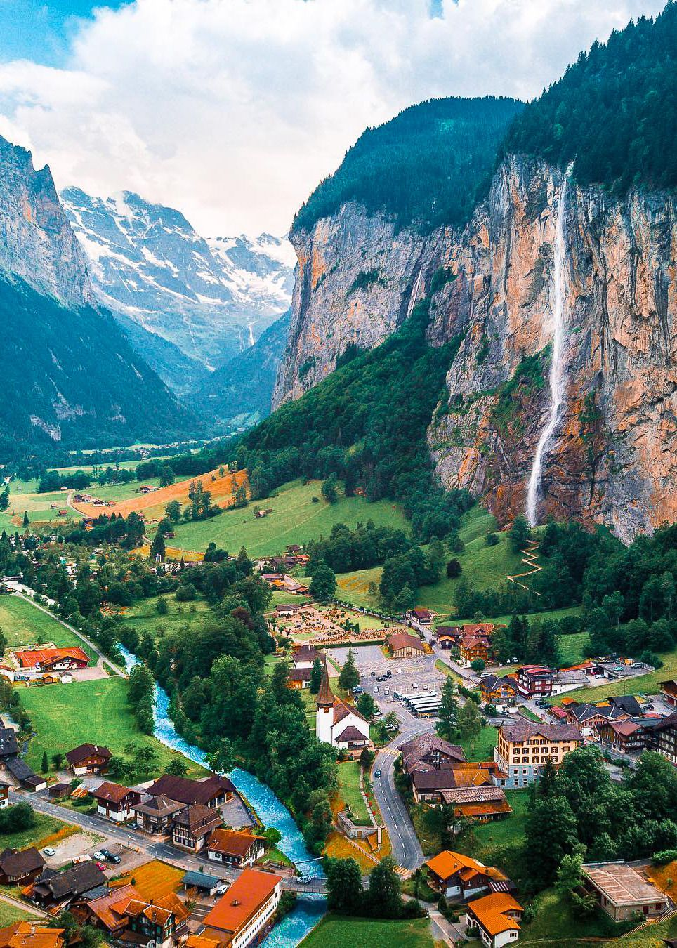 Coiour My World Lauterbrunnen Switzerland Mblockk Places