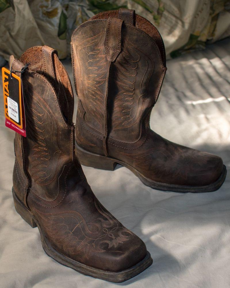 aa93b7f741c Ariat Cowboy Boots Men Size 8 - Rambler Phoenix - Never Been Worn ...