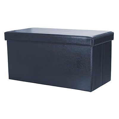 navy rectangular storage ottoman at big lots need measurements for foot of conor 39 s bed. Black Bedroom Furniture Sets. Home Design Ideas