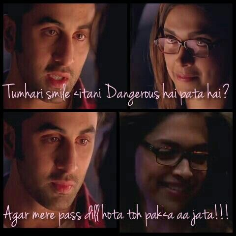 Yeh Jawani Hai Deewani Quotes Bollywood Quotes Yjhd Quotes Filmy Quotes
