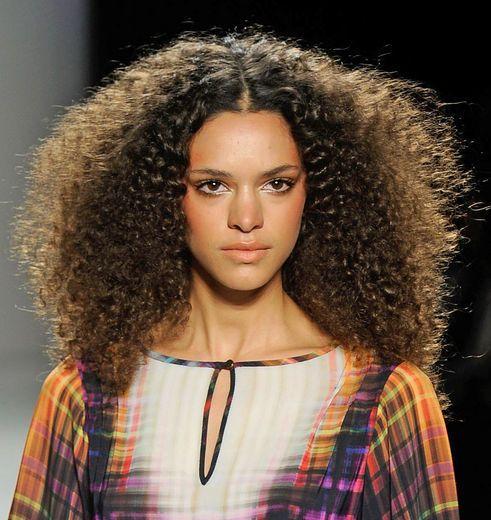 Hair and Makeup at Nicole Miller Fall 2012 NYFW