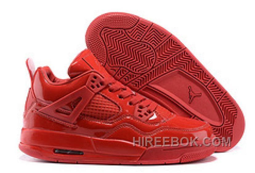 "hot sales 852ed d900c New Air Jordan 4 Retro 11Lab4 ""Red Patent Leather"" Christmas Deals YeHm6,  Price   93.00 - Reebok Shoes,Reebok Classic,Reebok Mens Shoes"