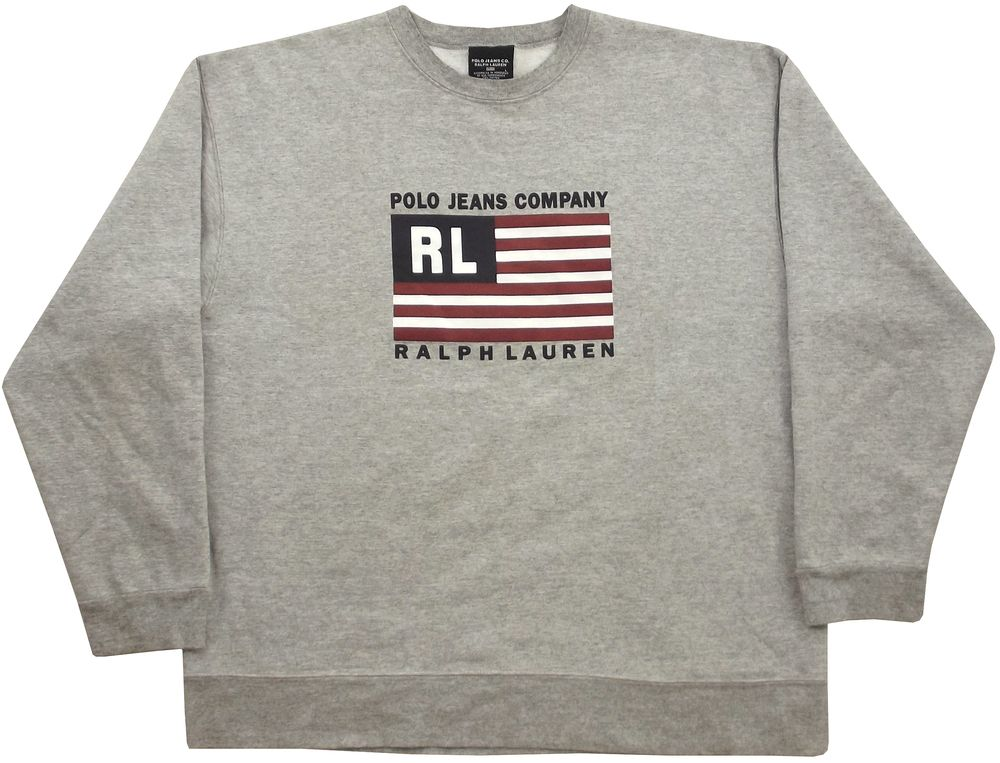 Ralph Lauren Polo Jeans Co Sweatshirt Size Large