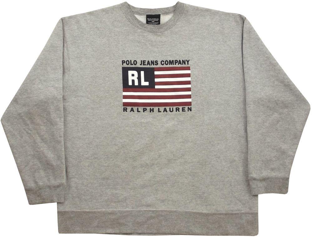 LargeNyc Ralph Jeans Co Sweatshirt In Lauren Size Polo 2019 0nNmv8w