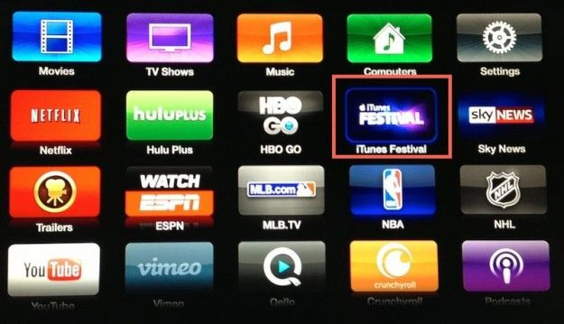 Apple readies for iTunes Festival with dedicated Apple TV